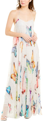 Rococo Sand Sheer Maxi Dress