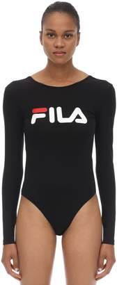 Fila Urban Logo Stretch Cotton Bodysuit