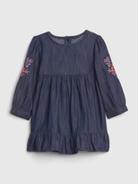 Gap Baby Embroidered Denim Dress