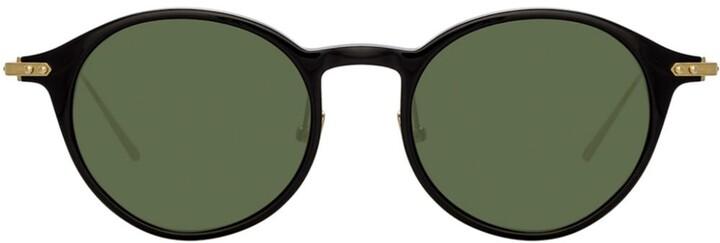 Linda Farrow oval sunglasses
