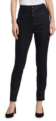 Frame Tuxedo Skinny Pants