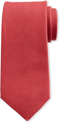 Charvet Men's Solid Linen Tie