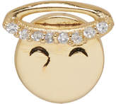 Marc Jacobs Gold Angel Face Earring