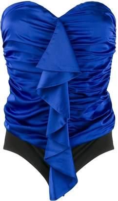 Nineminutes off-shoulder ruched top