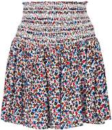 Tory Burch floral high-waisted skirt