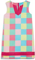 Vineyard Vines Girls' Whale Patchwork Shift Dress
