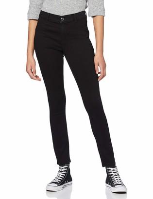 Dorothy Perkins Women's Black Regular Length Frankie Jeans 8