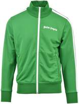 Palm Angels Zip-up Jacket Green