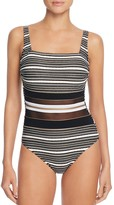 Gottex Regatta Square Neck One Piece Swimsuit