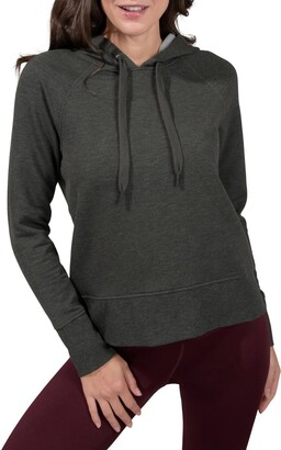 90 Degree By Reflex Butter Hoodie Long Sleeve Top