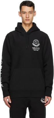 MONCLER GENIUS 2 Moncler 1952 Black UNDEFEATED Edition Girocollo Hoodie