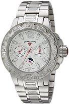 Swiss Legend Men's 'Ultrasonic' Quartz Stainless Steel Casual Watch, Color:Silver-Toned (Model: 14097SM-22S)