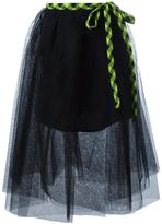 Marc Jacobs full tulle skirt - women - Silk/Polyester - 4