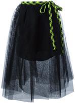 Marc Jacobs full tulle skirt - women - Silk/Polyester - 6