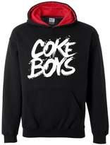 Xekia Coke Boys R&B Hip Hop Music Montana Chinx Cheeze Mac & Cheese Contrast Color Unisex Hoodie