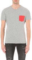 True Religion Contrast Pocket Cotton-jersey T-shirt