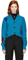 Acne Studios Blue Lysa Wool Cardigan