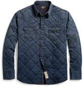 Ralph Lauren Indigo Western Shirt Jacket