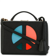 Mark Cross peace sign bag