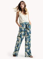 Ella Moss Malaya Tropical Wide Leg Pant