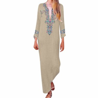 Zerototens Women Dress Women Boho Maxi Dress