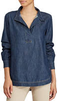 Lauren Ralph Lauren Denim Cotton Tunic