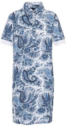 Etro Paisley stretch-cotton shirt dress