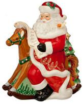 Waterford Crystal Holiday Heirloom Ornaments Santa Jar 30cm