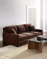 Horchow Arlo Leather Sofa