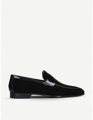 Magnanni Penny velvet loafers