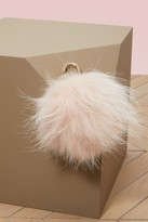 Yves Salomon Fur key ring