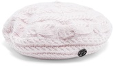 Maison Michel Tal cable-knit wool and cashmere-blend beret