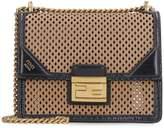 Fendi Kan U Liberty Leather Mini Crossbody Bag