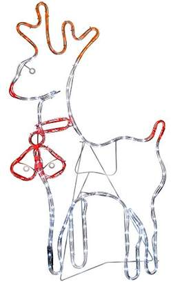 Camilla And Marc WeRChristmas Reindeer Rope Lights Silhouette Christmas Decoration, 92 cm - Large