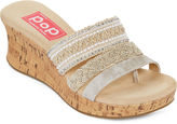 POP Fairy Embellished Wedge Sandals