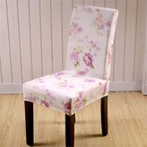 Seiyue 4 Pcs Dining Chair Stretch Spandex Covers Chair Seat Protector Slipcover Decor New