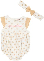 Juicy Couture Baby Girl Sunsuit With Headband