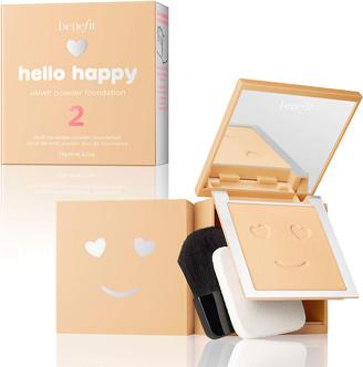 Benefit Cosmetics Hello Happy Velvet Powder Foundation 7G 2 Light Neutral