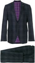 Etro tartan two-piece suit
