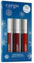 CARGO Liquid Lipstick Gift Set - Limited Edition