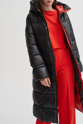 Noize Katy Long Puffer Jacket