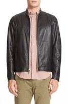 Mens Lambskin Leather Jacket - ShopStyle