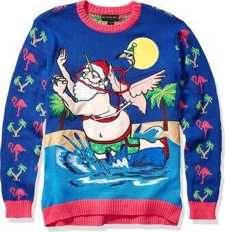 Blizzard Bay Men's Flamingo Riding Santa