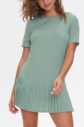 Forever 21 Pleated Shift Dress