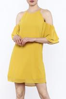 Naked Zebra Mustard Yellow Dress