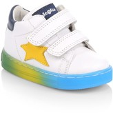 Naturino Baby's & Little Boy's Star Leather Grip-Tape Sneakers