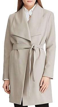 Ralph Lauren Ralph Belted Drape-Front Coat