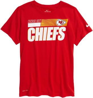 Nike Kids' Dri-FIT Kids' Legend Sideline NFL Kansas City Chiefs Graphic Tee