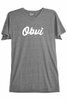Private Party Obvi Tee in Grey