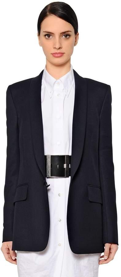 Maison Margiela Single Breasted Wool Jacket